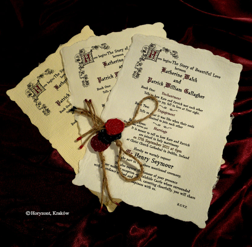 28 Best Medieval Wedding Invitations Images On Pinterest: The Northern Bride: Wedding Invitations Part 2 : Luxurious